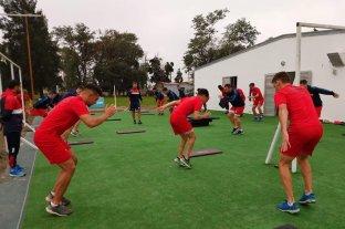 Unión volvió a los entrenamientos con 26 jugadores