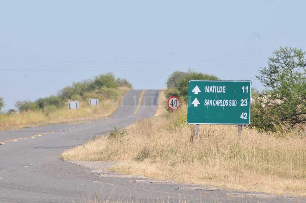 En la actualidad, es el tramo más largo de la autopista que no cuenta con un acceso, ya que del aeropuerto de Sauce Viejo hasta la ciudad de Coronda hay más de 32 kilómetros. <strong>Foto:</strong> Archivo El Litoral