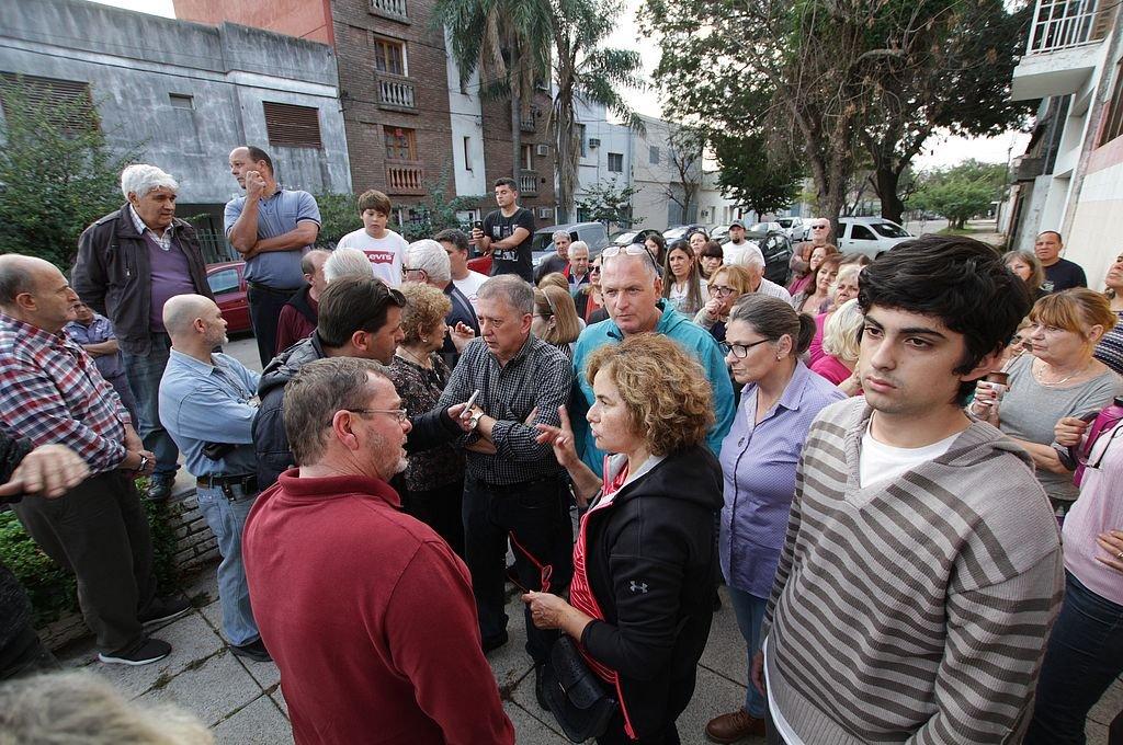 """""""Vivimos con miedo a salir a la calle, o a que los ladrones entren a nuestras casas a cualquier hora del día. Reclamamos acciones de seguridad concretas"""", exigieron.  <strong>Foto:</strong> Pablo Aguirre"""