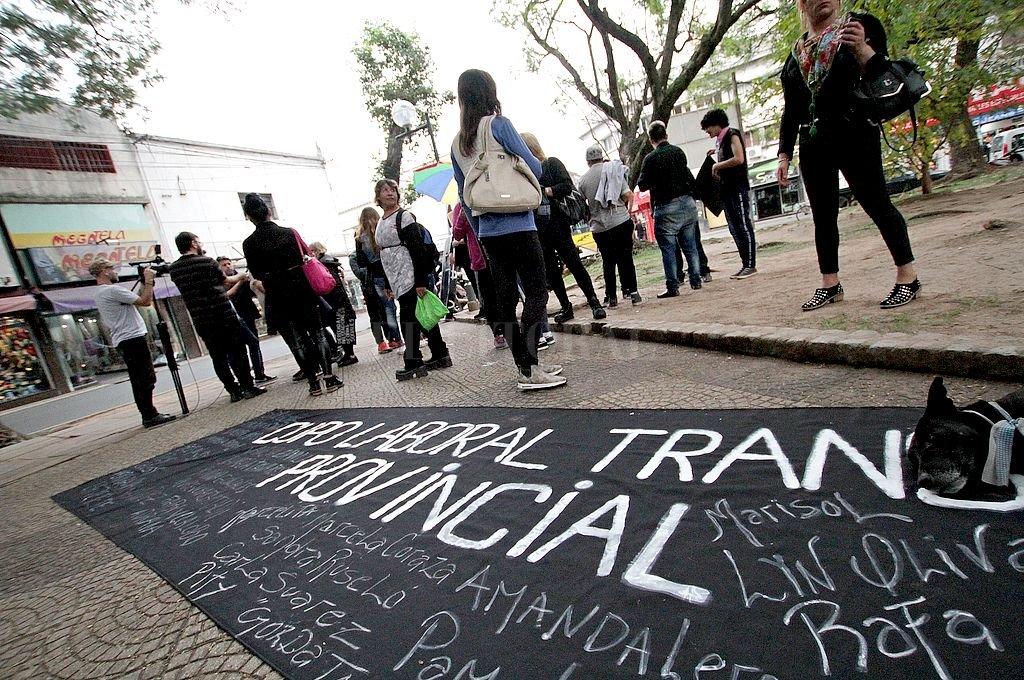 Una batería de datos por la ampliación de derechos —entre ellos, el acceso al trabajo— fue presentado este jueves por el Colectivo LGTBI. <strong>Foto:</strong> Pablo Aguirre