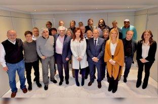 Alberto Fernández y Cristina Kirchner se reunieron con el sindicalismo