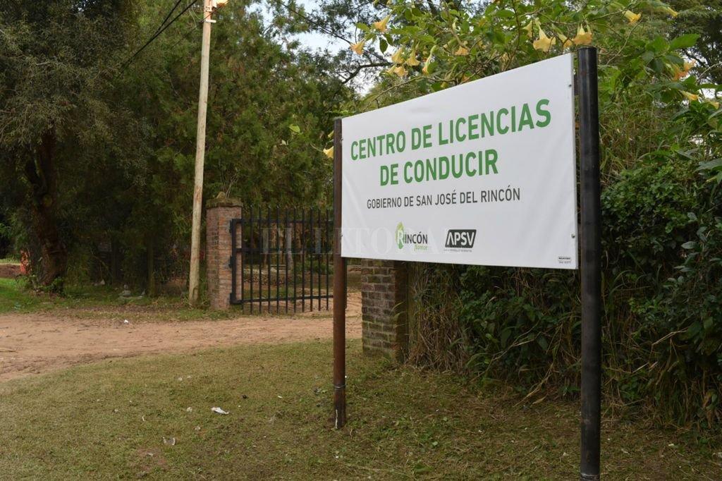Centro de Licencias de Conducir. Está ubicado en el predio La Lonja, en calle Santa Rosa 3749. Crédito: Gentileza Municipalidad de Rincón