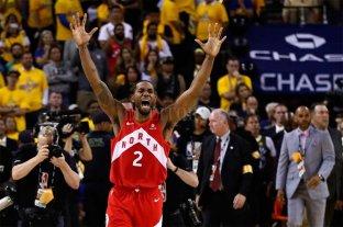 Histórico: Toronto Raptors es el nuevo campeón de la NBA