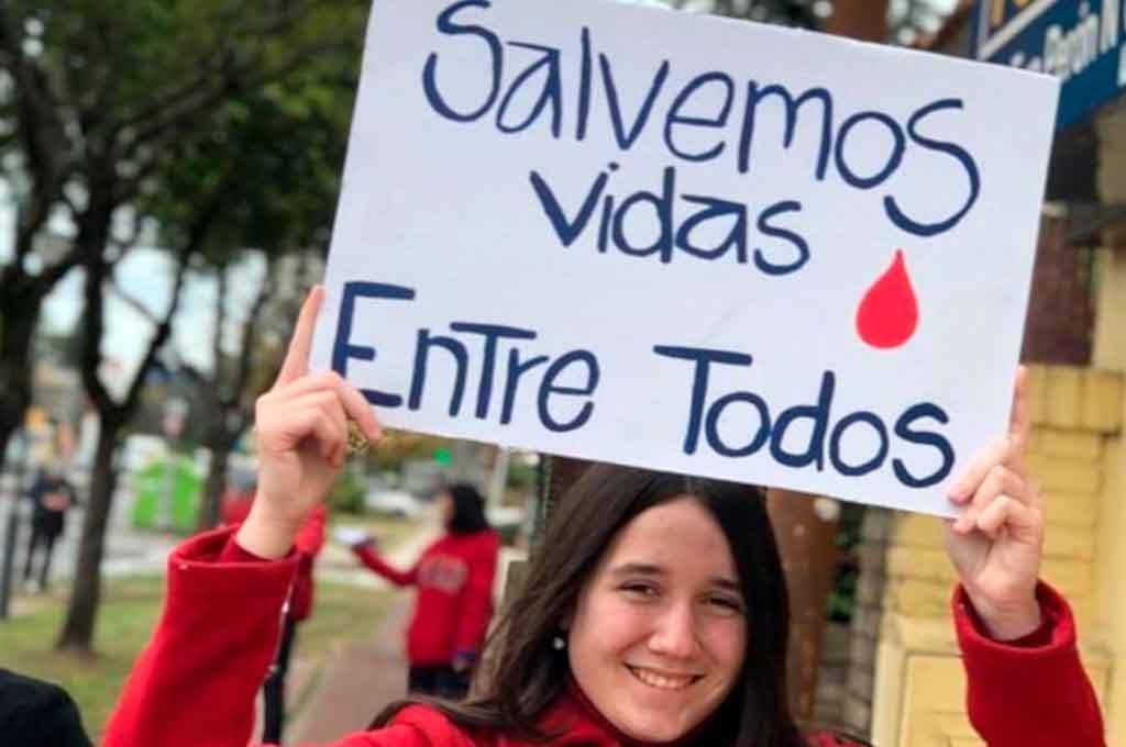 Día Mundial del Donante: se realizan colectas de sangre en toda la provincia