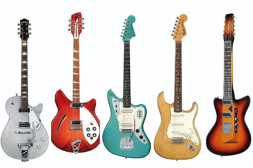 Subastan guitarras de Gilmour