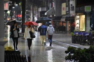 Lluvioso sábado en la ciudad
