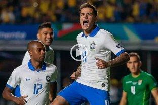Brasil goleó a Bolivia en la apertura de la Copa América 2019 -  -