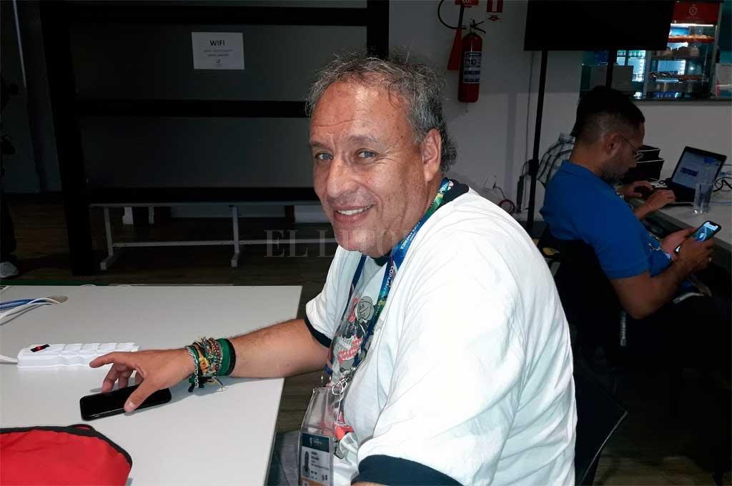 """Marven Miño, un hombre con mucha carrera encima, fue terminante al momento de hablar de Cadavid y Comesaña. Dijo que """"a Morelo le cuesta arrancar, pero cuando lo hace no para"""" y de Celis señaló que """"tranquilamente podría haber jugado esta Copa América"""". <strong>Foto:</strong> El Litoral"""
