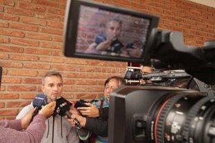 Lavallén y su pensamiento con respecto a Aliendro - En foco. Pablo Lavallén brindó una extensa charla con la prensa antes de viajar a Salta, ciudad en la que Colón trabajará hasta el sábado 22 de junio. -
