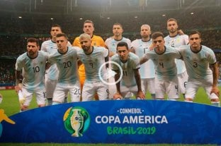 Argentina - Colombia: el himno y la emoción de los hinchas