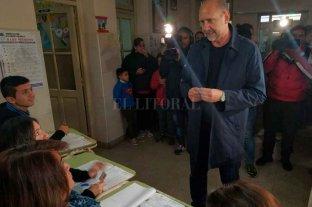 """Omar Perotti: """"Queremos que la gente vote con tranquilidad"""" -  -"""