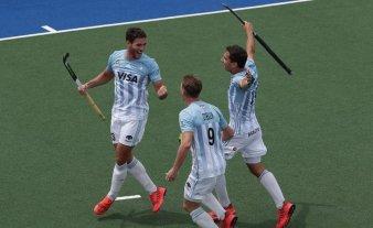 Los Leones derrotaron a España y se metieron en la zona de clasificación a la Fase Final