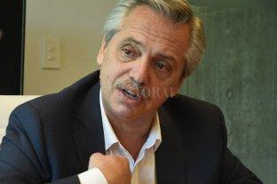 """Alberto Fernández pidió que Macri de explicaciones """"por el apagón más grande de la historia"""" -  -"""