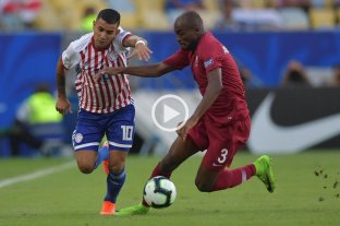 Por el grupo de Argentina, Paraguay empató con Qatar