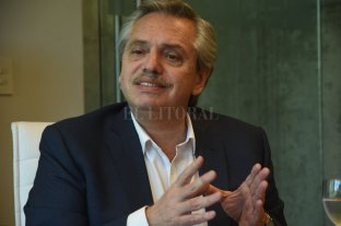 """Alberto Fernández: """"No hay que perseguir a los fumadores de porro"""" -  -"""