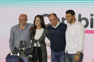 José Corral felicitó a Omar Perotti