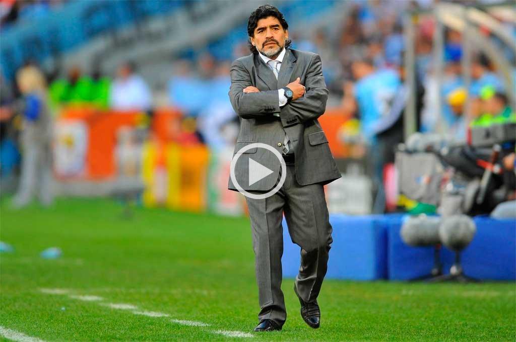 Fuerte mensaje de Maradona tras la derrota de Argentina
