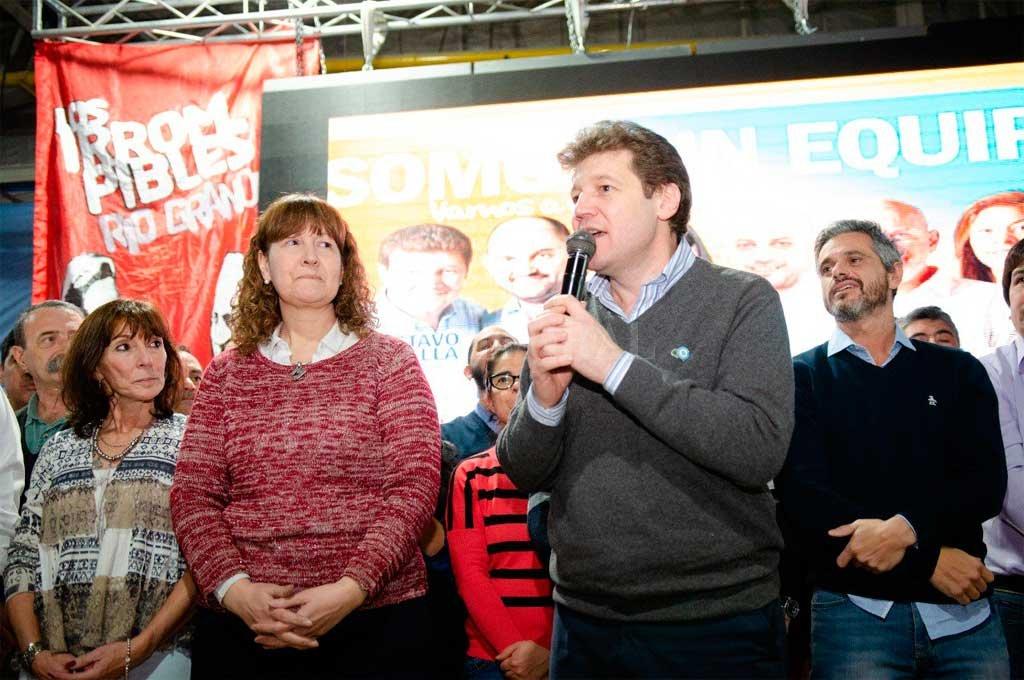 """""""Voy a hacer campaña por Fernández-Fernández"""", dijo el gobernador electo de Tierra del Fuego"""