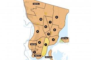 Mapa de seccionales: así votó la ciudad -