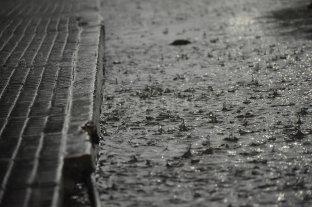 Está vigente un alerta por lluvias y tormentas intensas