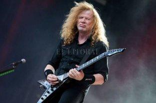 El líder de Megadeth fue diagnosticado con un cáncer de garganta - Dave Mustaine.