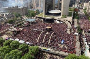Serios disturbios en la celebración del título de la NBA de Toronto Raptors -  -
