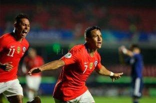 Chile debutó en la Copa América con una goleada ante Japón