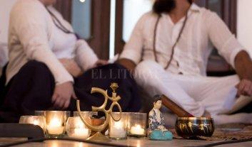 Día Internacional del Yoga  - El Día Internacional del Yoga en 2018 se celebró en el Centro Experimental del Color.