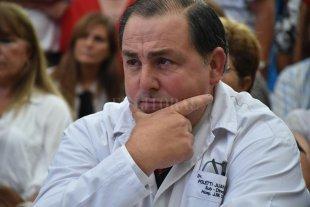 El hospital Cullen salió ileso del apagón nacional - Juan Pablo Poletti, director del hospital Cullen. -