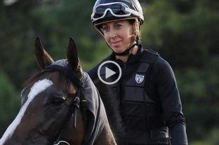Murió la jocketa que sufrió una rodada en el Hipódromo de Palermo - María Paganelli. -