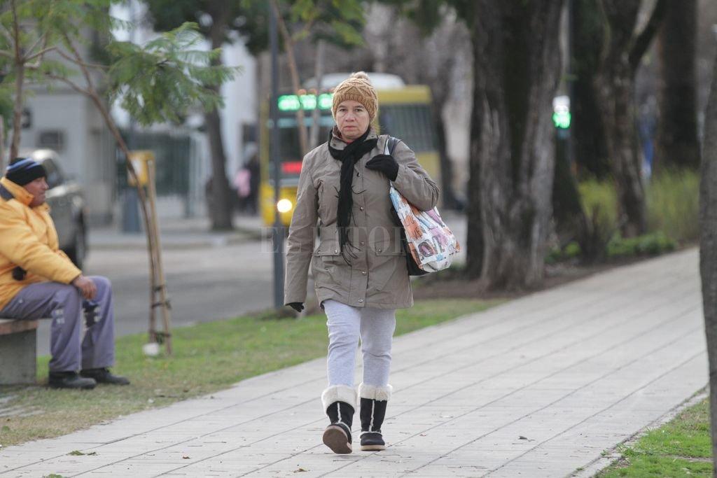 Frío miércoles en la ciudad
