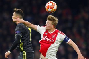 El holandés De Ligt seguiría su carrera en la Juventus