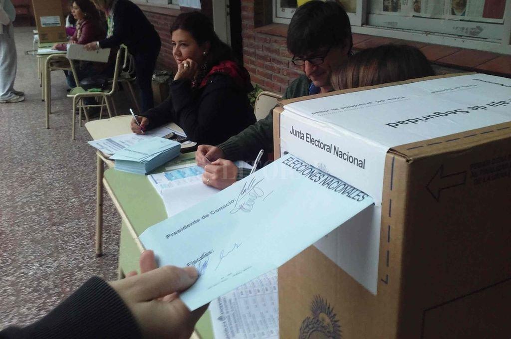 Dirigentes del Pro santafesino esperan la resolución para presentar las listas de precandicatos a diputados nacionales. Crédito: Archivo El Litoral