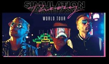 """Flow Music Experience, la nueva plataforma de shows en vivo de Telecom - Muse se encuentra presentando a nivel mundial su nuevo disco de estudio y con su gira """"Simulation Theory World Tour"""" llega a la Argentina el viernes 11 de octubre, en el Hipódromo Argentino de Palermo. -"""