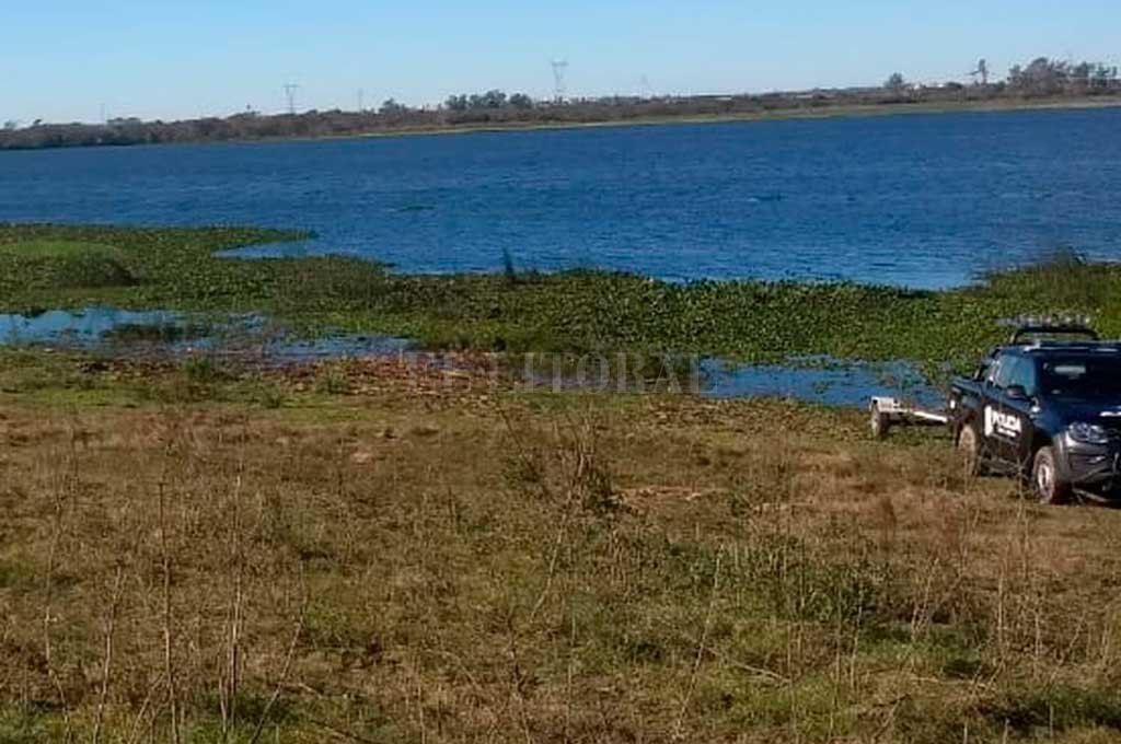 Pescador desaparecido   en el río Colastiné
