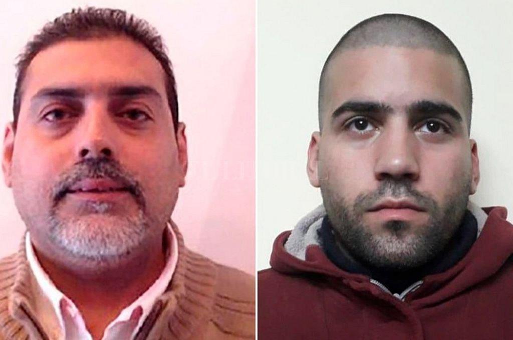 Juan Jesús Fernández (42) y su primo Juan José Navarro Cádiz (25). <strong>Foto:</strong> Captura digital