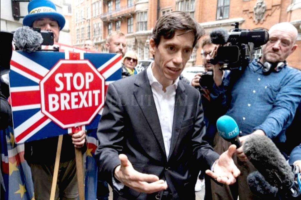 Rory Stewart. <strong>Foto:</strong> Captura digital