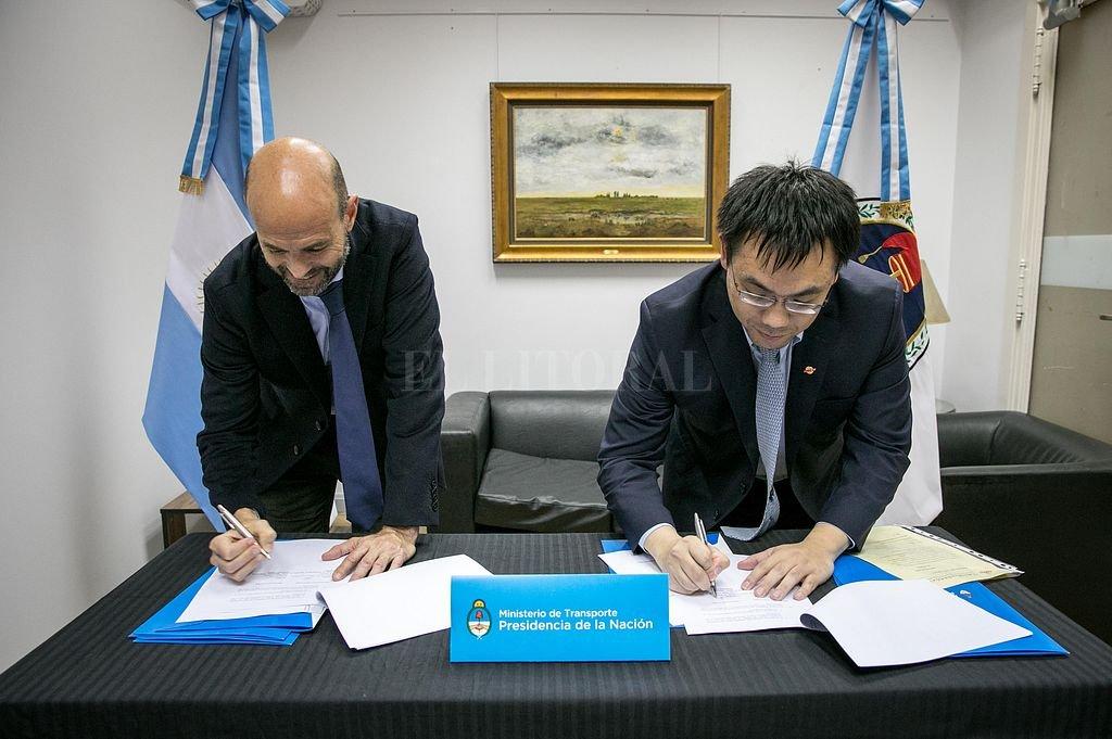 Amplían el contrato con una empresa china para la obra del Circunvalar Ferroviario Santa Fe