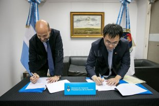 Amplían el contrato con una empresa china para la obra del Circunvalar Ferroviario Santa Fe -  -
