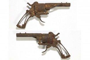 Subastaron el arma con la que se habría suicidado Van Gogh - El revólver Lefaucheux subastado por U$S 182.000. -