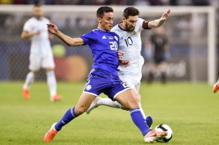 Argentina pierde con Paraguay -  -