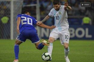 Argentina empató con Paraguay  -  -