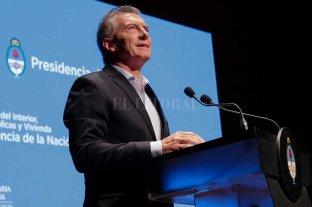 """Macri afirmó que """"se vienen 20 años de crecimiento sostenido para Argentina"""""""