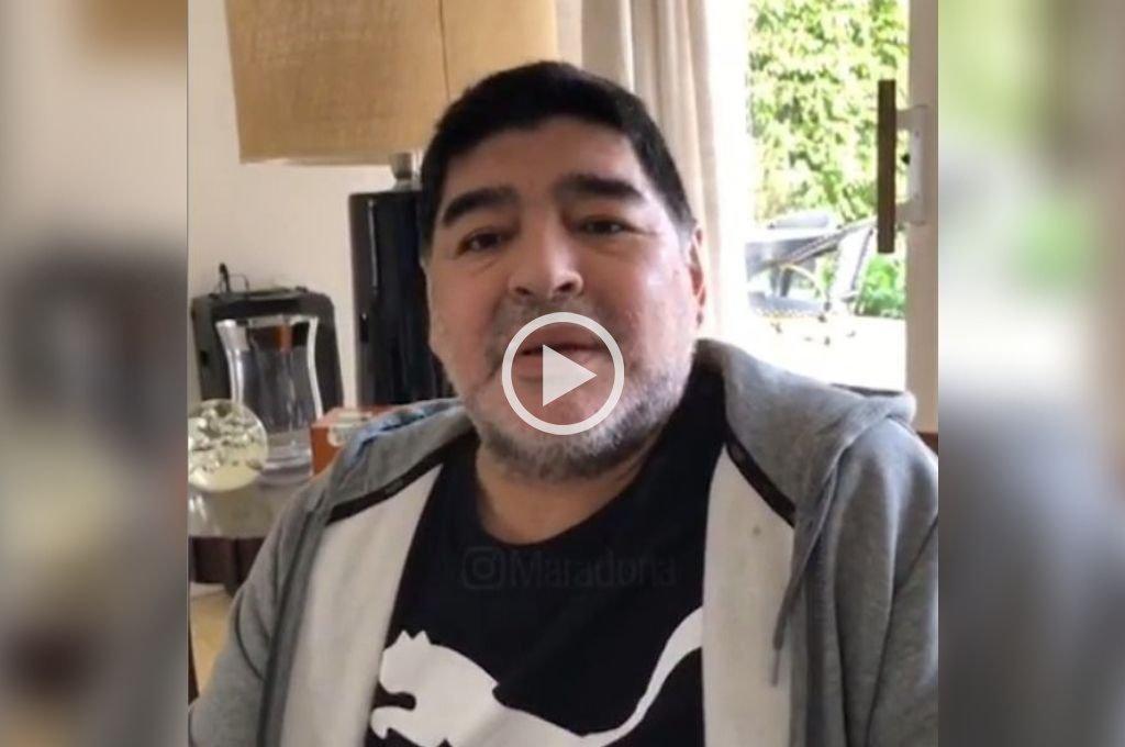 """Maradona: """"No me estoy muriendo"""""""
