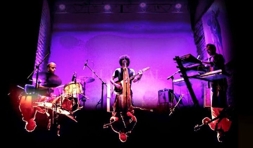 Doble trío: las bandas comparten alineación y experiencias sonoras. Crédito: Gentileza producción