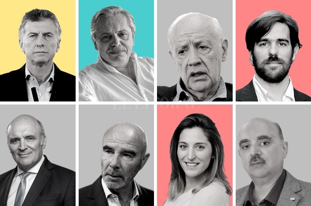 8 fórmulas presidenciales competirán en las PASO de agosto