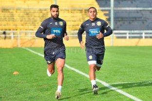 Zabala y Brítez ya entrenan con Central