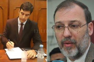 Condenaron al acusado de asesinar a Héctor Vargas  - En la dirección de la investigación intervinieron los fiscales Martín Torres y Jorge Nessier. -