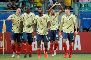 Colombia venció a Paraguay y quedó como líder del grupo B -  -