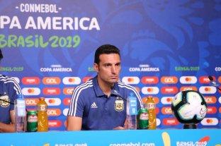 """Scaloni: """"Tenemos que hacer el balance cuando termine la Copa y no durante"""" -  -"""